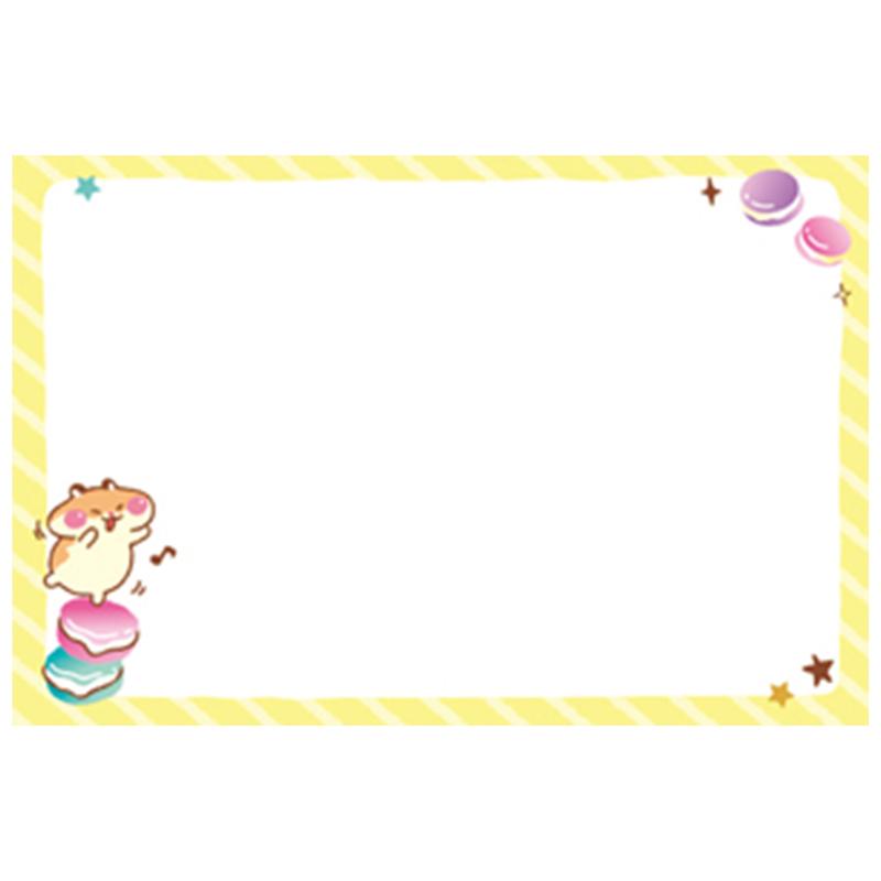 彩色便條紙-甜鼠 M4004-12