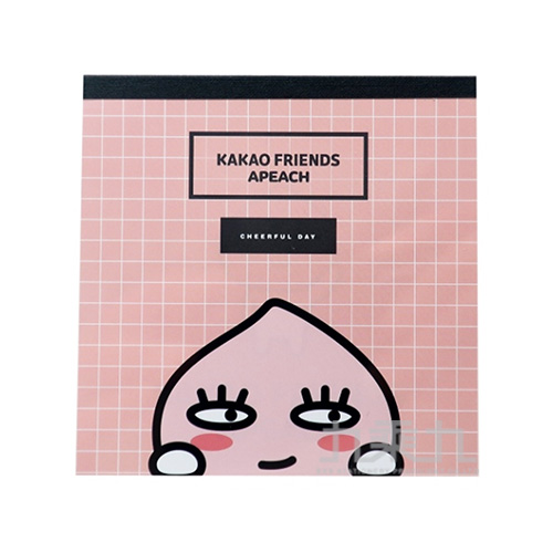 KAKAO FRIENDS便條紙粉紅色 041032EAAV136