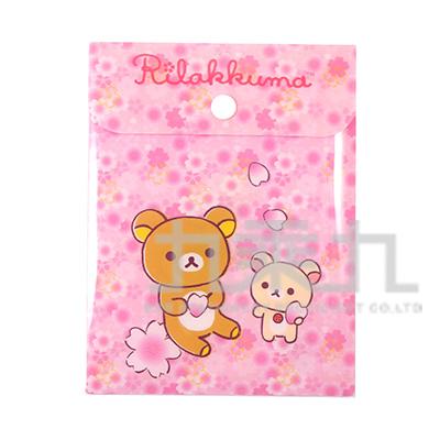 拉拉熊附扣便條包(櫻花版) RK11587A