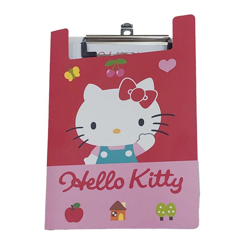 Hello Kitty PP板夾附便條紙 195885