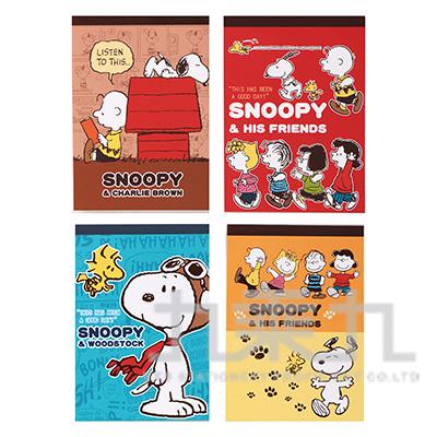 Snoopy便條本 SN-ME55/58