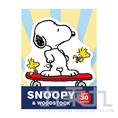 Snoopy造型便條紙 SN-ME89/90