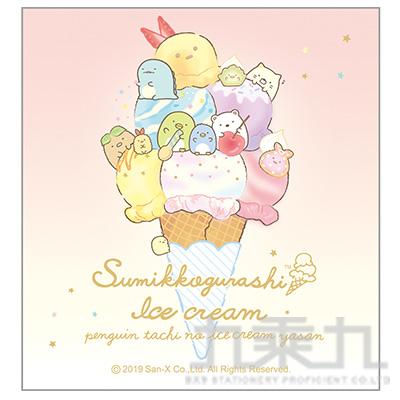 小夥伴四方便條本B-冰淇淋