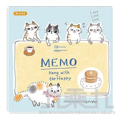 O-Cat 10*10 MEMO-綠