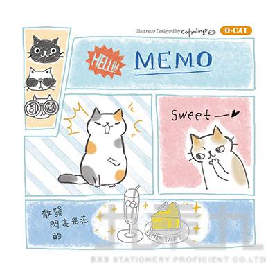 O-Cat 10*10 MEMO-白