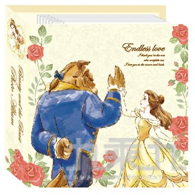 迪士尼32K活頁數位相本(美女與野獸)SPH-03206