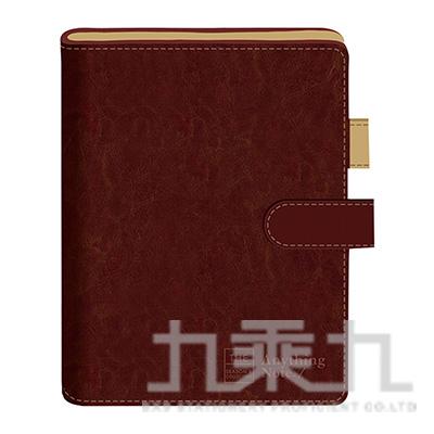磁釦萬用手冊42K-框字褐 SG0902-05