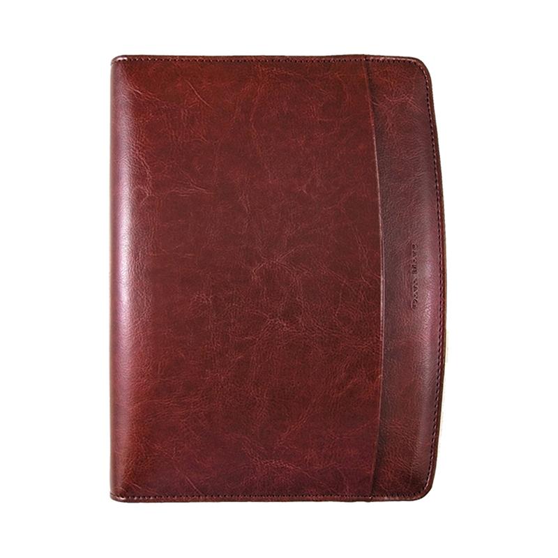 皇家經典包A5萬用手冊 咖啡色 DM-807
