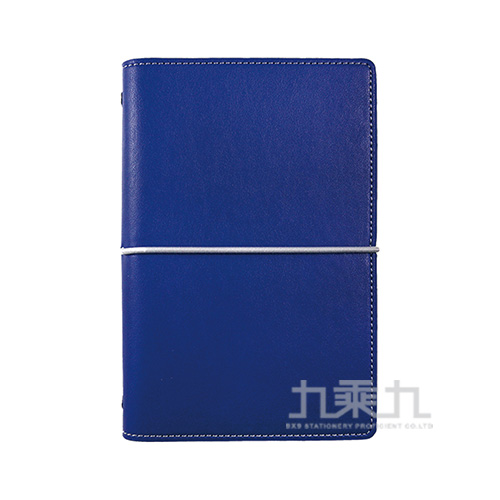A6 萬用手冊PU合成皮 英式簡約寶藍色DM-709