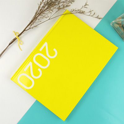 2020-32K玩色精裝直式週誌(芒黃) CD01322-20