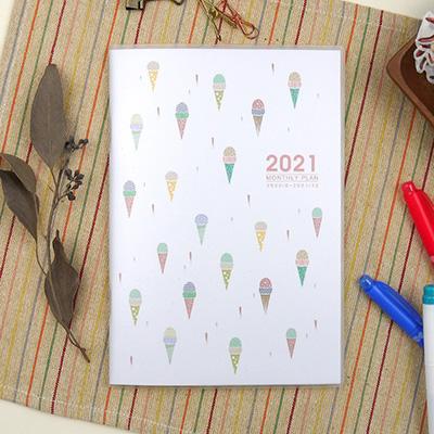 2021-25K跨年月計畫-甜筒冰 MKD01254-21