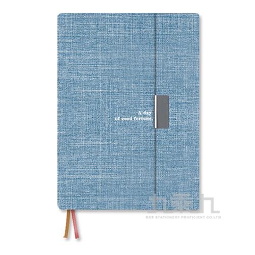 2021年B6直式週誌-磁性書衣/淺藍 BC-50458-04