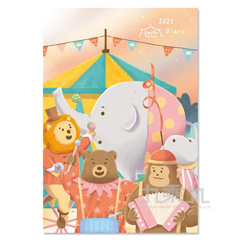 2021年B6插畫週誌-歡慶 BC-50469-02