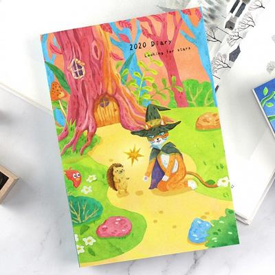 2020年B6插畫週誌-貓咪魔法師 BC-50408(多款隨機)