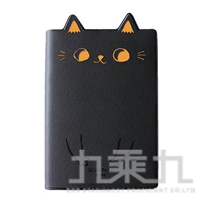 2020年50K O-Cat貓耳跨年手冊-黑 JDM-195B