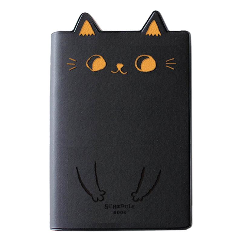 2022年32K O-Cat貓耳跨年手冊-黑 JDM-222B