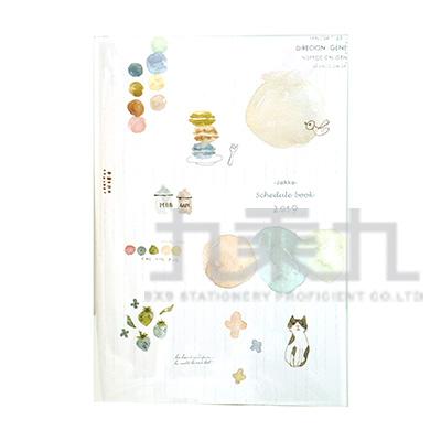 2019 32K跨年膠皮手冊-賓士貓 BDM-19B