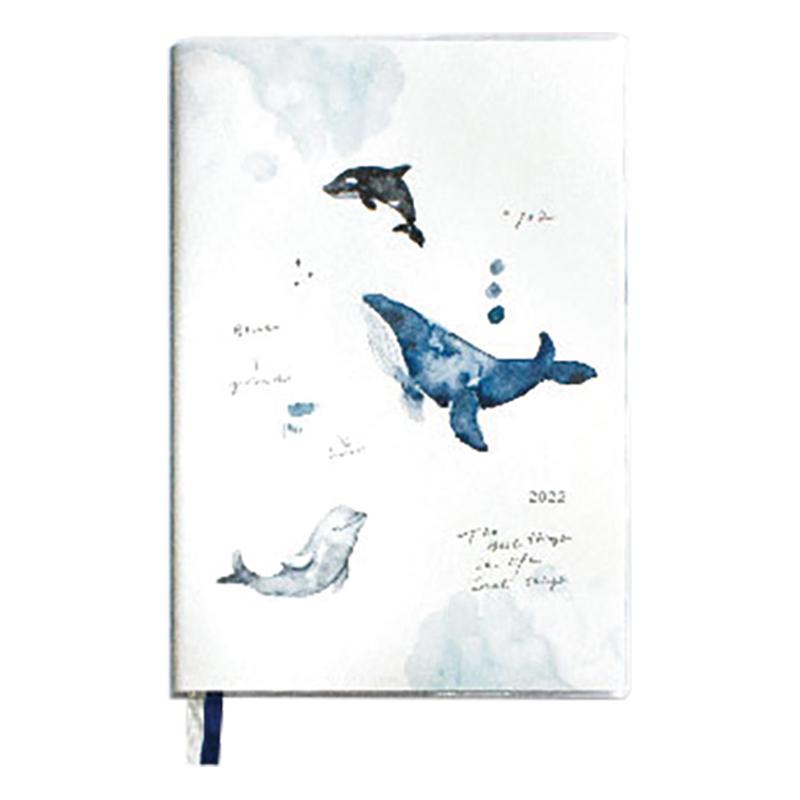 2021~2022 32K跨年膠皮手冊-鯨魚 BDM-59B