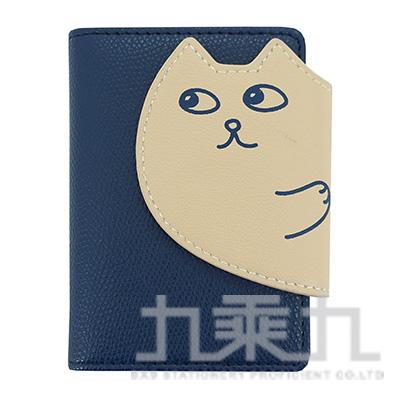 貓咪20入卡片收納套/深藍 R/M:CH87K