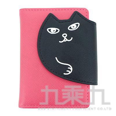 貓咪20入卡片收納套/桃紅 R/M:CH87P
