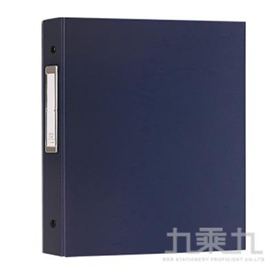 40K6孔3格活頁名片本-120名/03藍