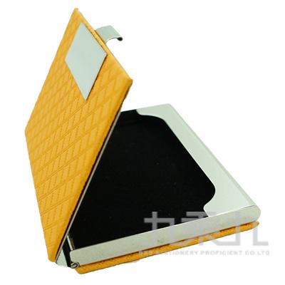 高級皮革名片盒 F0194