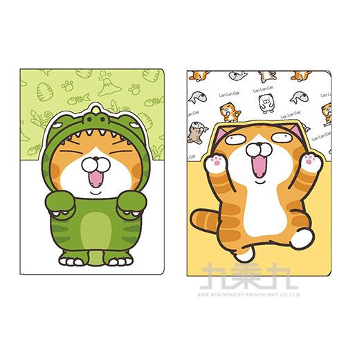 白爛貓護照卡套夾 LCDC150-2(款式隨機出貨)