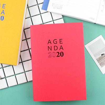 2020年A5日誌(1日1頁)/補充內頁 BC-50427(多款隨機)