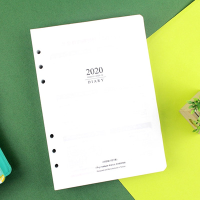 2020年A5/6孔手冊內頁(1日1頁) BC-50446