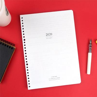 2020年16K/26孔日誌內頁(1週2頁) BC-60216
