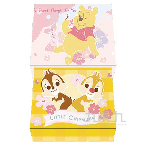 迪士尼(櫻花系)彩色名片盒(2) DFNC65-1(款式隨機出貨)