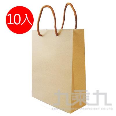 環保牛皮紙袋(M) 10入裝 3358