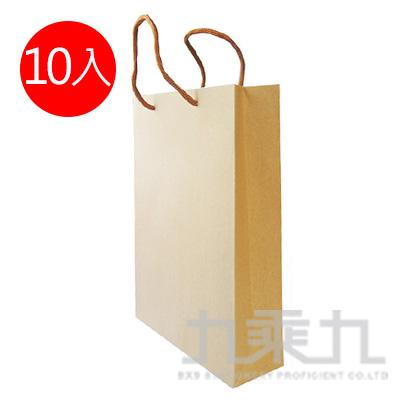 環保牛皮紙袋(L) 10入裝 3359