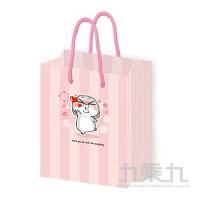 立體禮物提袋(請收下)-好想兔 CBG-376A