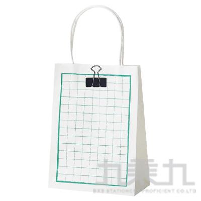 文青禮袋-方眼格  XZV86023