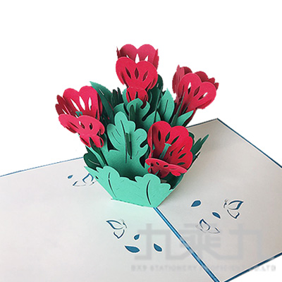 立體卡片 Flower 15*20