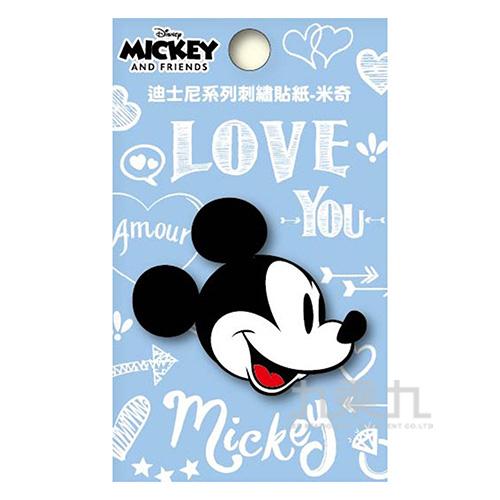 迪士尼系列刺繡貼紙-米奇