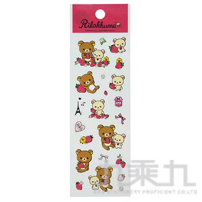 拉拉熊可愛小貼紙-桃版 RK04482C