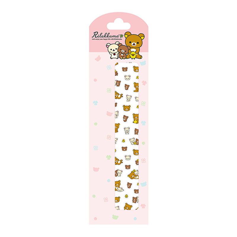 拉拉熊長型迷你貼-幸運草版 RK18011B