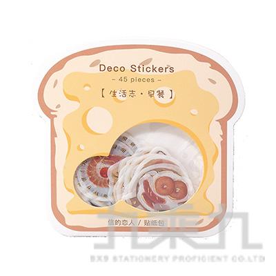 手帳貼紙包(生活誌-早餐)