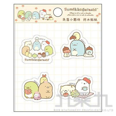 小夥伴防水貼紙-森林 SGSA0504
