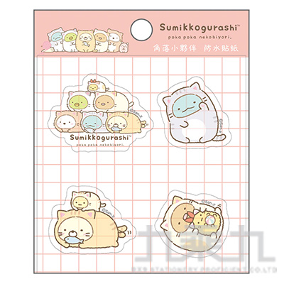 小夥伴防水貼紙-貓 SGSA0509