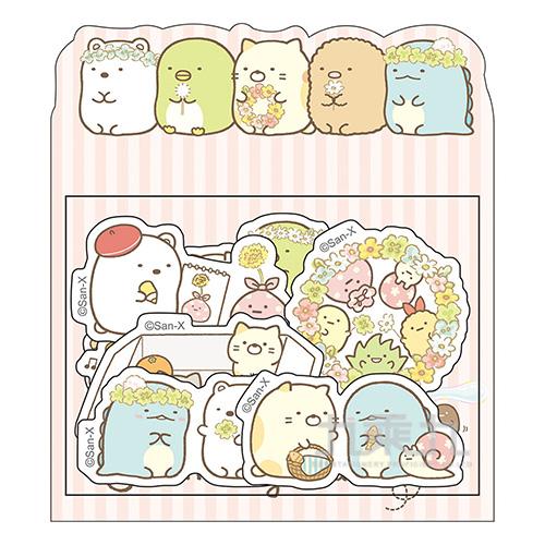 小夥伴貼紙包A-花田