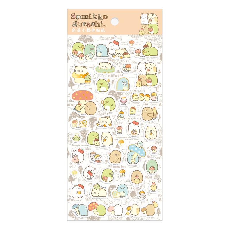 小夥伴貼紙D-森林SGSA1703