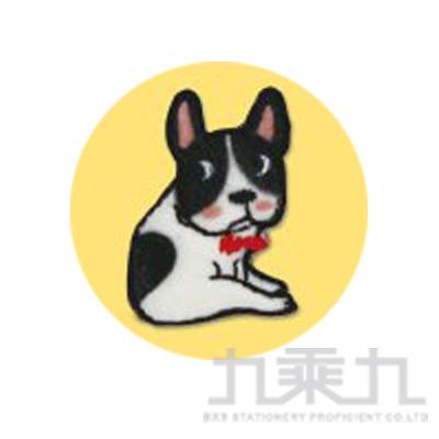 刺繡裝飾貼第三彈(黑白狗)