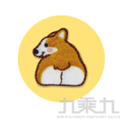 刺繡裝飾貼第三彈(柯基屁屁)
