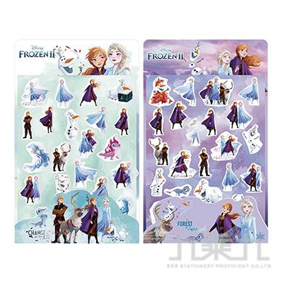 冰雪奇緣(2)造型著色貼紙(款式隨機)