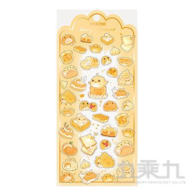 手工厚滴水晶鎏金工藝貼 50345