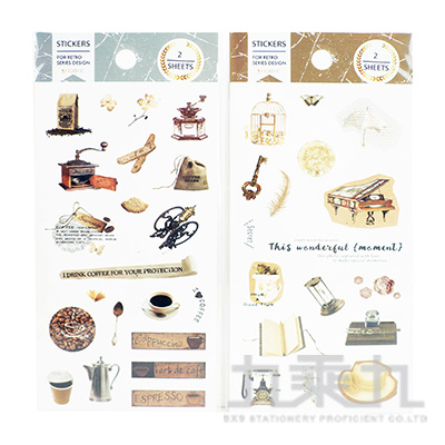 戀時空-手帳裝飾貼 HC-24925