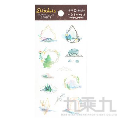 入夢-手帳裝飾貼 HC-24833